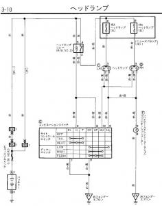 Hライト配線図