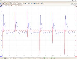 CDI波形高回転